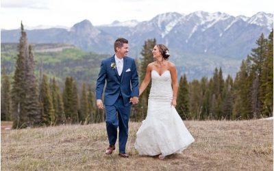 Kurt and Ashley's Mountaintop Wedding