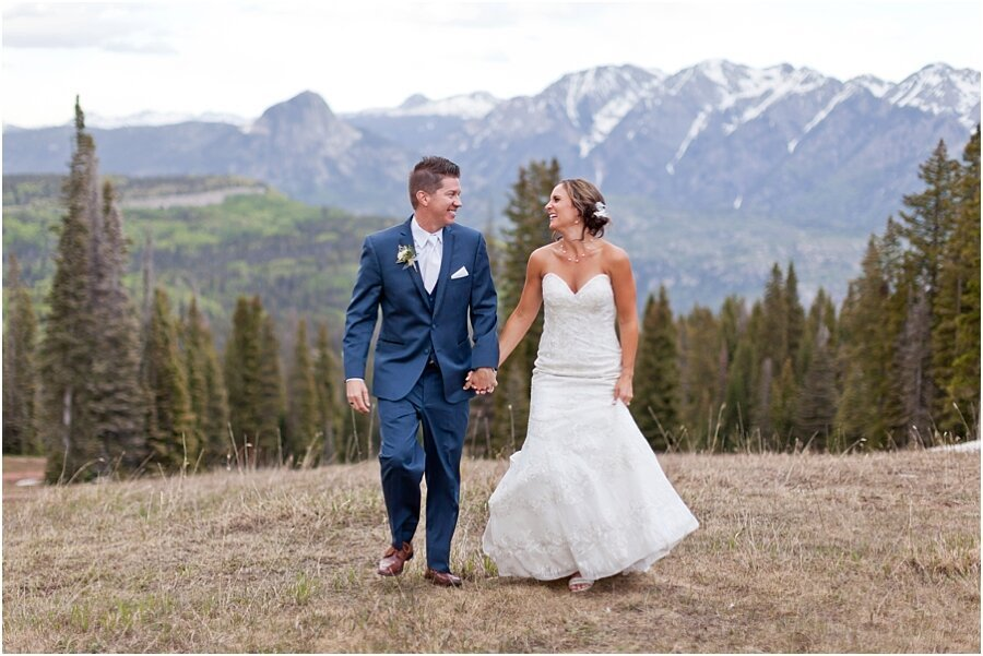 Kurt and Ashley's Mountaintop Wedding