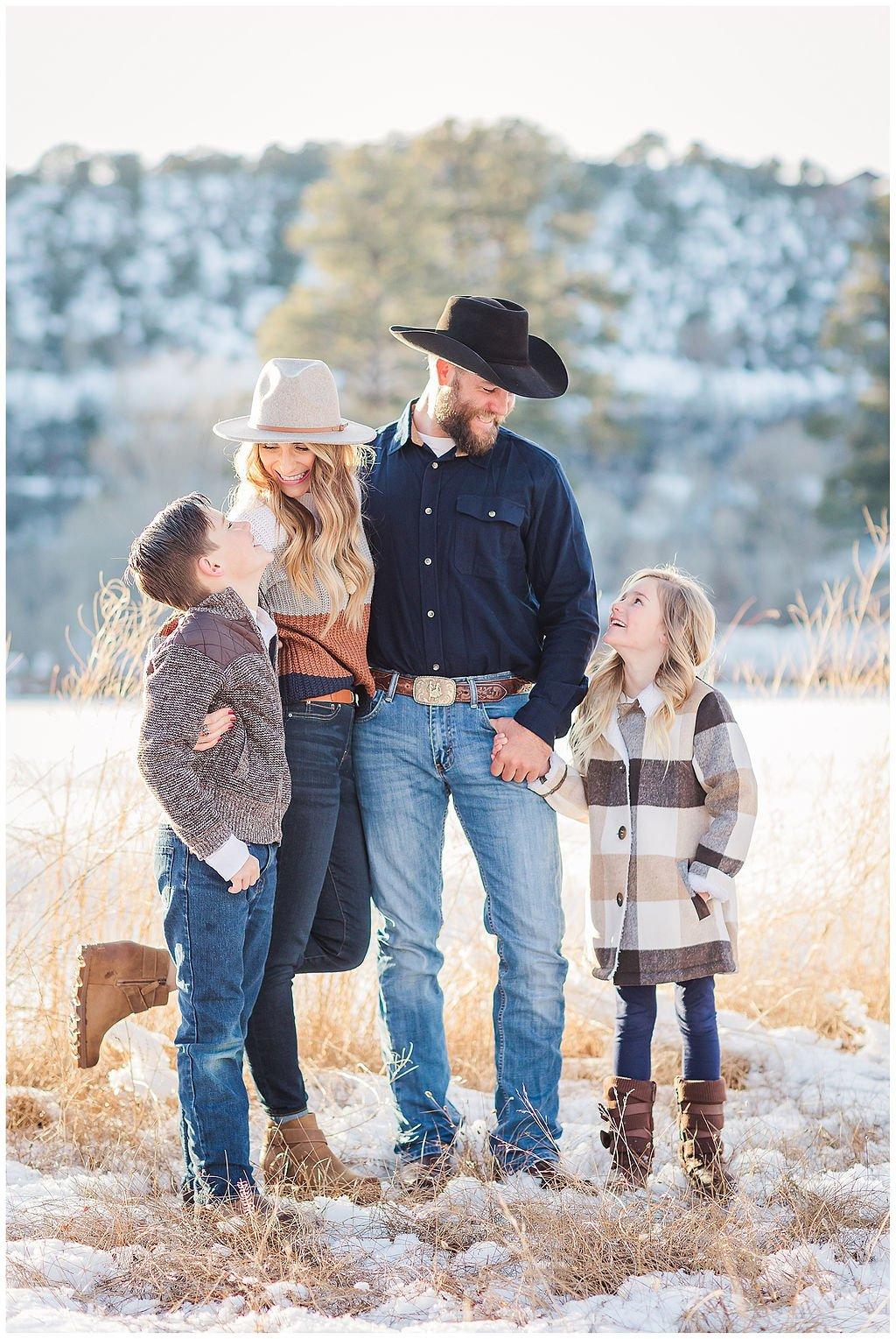 Winter Family Portrait