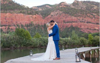 Lydia and Mark's Durango Wedding