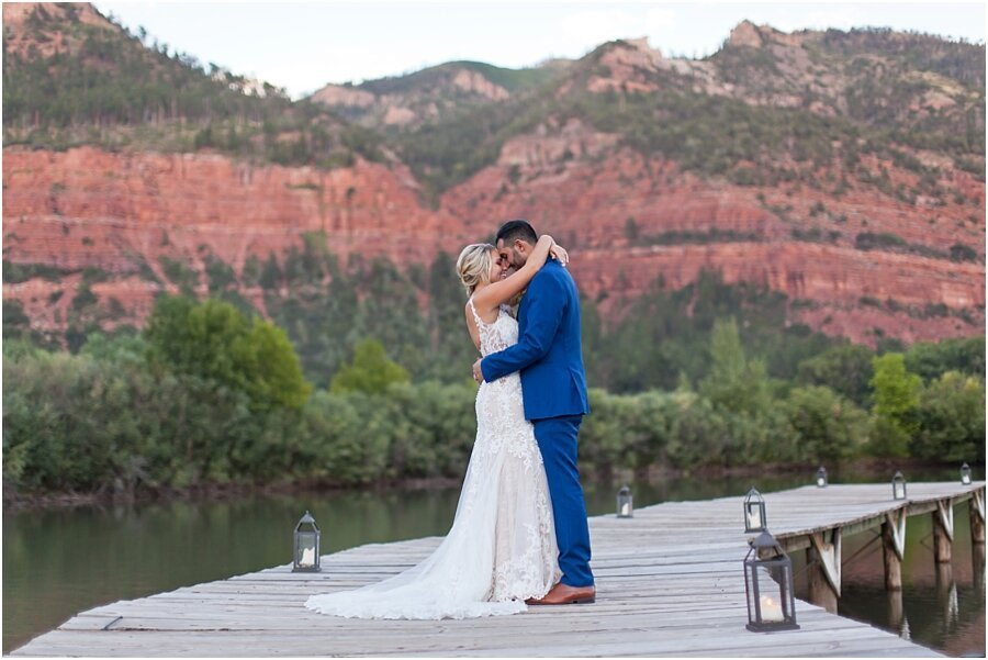 Lydia and Mark's Durango Wedding